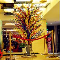 Wholesale Handblown glass floor lamps / Art glass floor lights , DJ-4003 from china suppliers