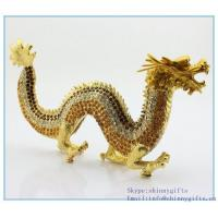 Wholesale Fashion dragon shape jewelry presentation boxes with rhinestone for decoration SCJ969 from china suppliers