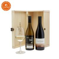 Wholesale Classic wine packaging gift box with button wine gift box storage wine box from china suppliers