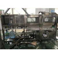 Wholesale 5 Gallon Pet Bottle Filling Machine / 20 Liter Mineral Water Bucket Plant 2800*1100*1600MM from china suppliers