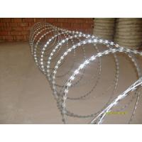Wholesale concertina cross razor wire from china suppliers