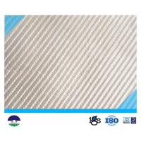 Wholesale PET White Multifilament Woven Geotextile for railway construction from china suppliers