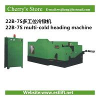 Wholesale 22B-7S multi-cold heading machine cold heading machine from china suppliers