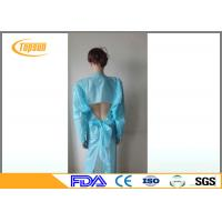 Wholesale Disposable Surgical CPE Gown With Open Cuff For Laboratory / Food Industry from china suppliers