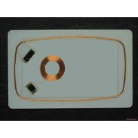 Wholesale RFID Magnetic Card CR80 Smart Card Inlay 0.5mm 0.6mm 0.7mm  1K proximity card inlay from china suppliers
