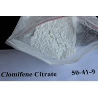 Wholesale Legal Oral Muscle Building Anti Estrogen Steroids Clomifene Citrate Powder Source 50-41-9 from china suppliers
