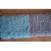 Wholesale Light Blue / Light Grey Polyester Solid Color Shaggy Rugs, Supersoft Area Rug from china suppliers