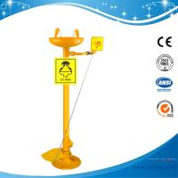 Wholesale SH711BF-G.I.eye wash,safety eye wash with foot pedal from china suppliers