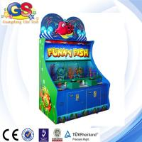 Buy cheap Funny Fish lottery machine ticket redemption game machine from wholesalers
