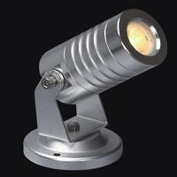 Wholesale 1*3W Silver High Power LED Landscape garden Spot Light IP65 With Mounting Round Base from china suppliers
