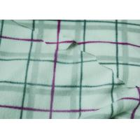 Wholesale 100% Polyester Custom Fleece Fabric Polar Fleece Ecofriendly Fabric Plaid Pattern Print from china suppliers