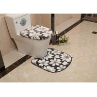 Wholesale Microfiber 2 Piece Bath Mat Set , Skidproof Durable non slip bath mat from china suppliers