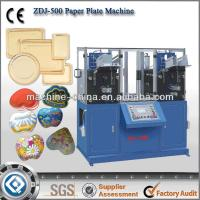 China Best Quality ZDJ-500 Automatic Paper Plate Machine