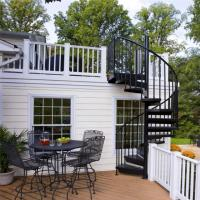 Buy cheap Australia outdoor used stairs metal spiral staircase for apartment from wholesalers