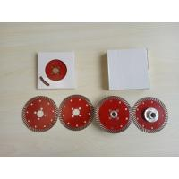 Wholesale Flange Slot or M14 Flange 4.5/7/9inch  Sintered Turbo Saw Blade For Granite from china suppliers