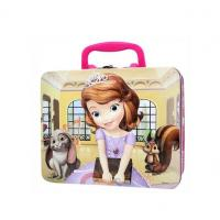 Wholesale Square Cartoon Printed Metal Tin Lunch Box With Custom Artwork from china suppliers