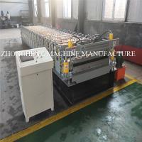 Buy cheap 27-1000 / 25-995 Double Layer Roll Forming Machine , Roof / Wall Double Deck Roll Forming Machine from wholesalers