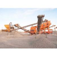 Wholesale Move Smoothly Complete Crushing Plant For Sand Production Line 80 - 100TPH from china suppliers