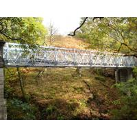 Wholesale Prefabricated Steel Truss Bridge Galvanized CB321 DSR Bailey Bridge With Steel Deck from china suppliers