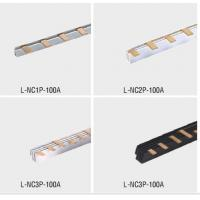 Wholesale PVC / Red Copper L Type Electrical Grounding Busbar Connection For MCB from china suppliers