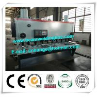 Buy cheap QC11Y-6x3200 Hydraulic Guillotine Shearing Machine , NC Hydraulic Swing Shearing Machine from wholesalers