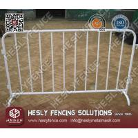 Wholesale Vinyl coated Crowd Control Barrier from china suppliers