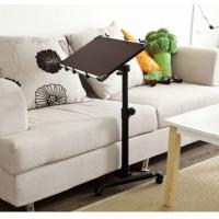 Wholesale Swivel Black Foldable Notebook Adjustable Laptop Table On Sofa Portable DX-BJ10A from china suppliers
