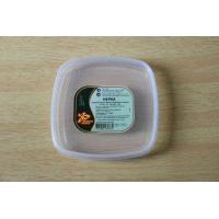 Wholesale Food box / container Square plastic PE lids with custom printing sticker / tag from china suppliers