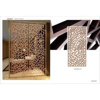 Wholesale High quality newest designs stainless steel screen partition office custom made from china suppliers