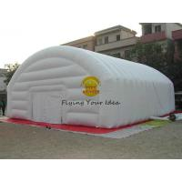 Wholesale White Inflatable Dome Tent With 0.4mm PVC Tarpaulin For Playing Center from china suppliers