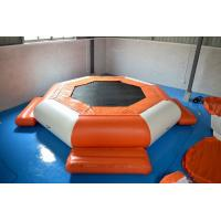 Wholesale 0.9mm PVC Tarpaulin Inflatable Floating Water Trampoline from china suppliers