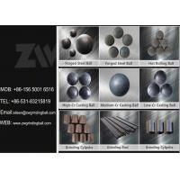 Wholesale High Medium Low Chrome Cast Iron Balls for Cement Plant Ball Mill from china suppliers