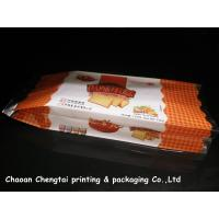 Wholesale Food Grade Gusseted Plastic Bags For Biscuit / Bread / Cake Packaging QS Approval from china suppliers