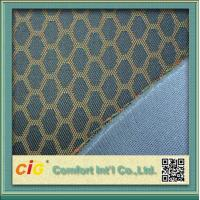 Quality Modern Waterproof Shuttle Auto Upholstery Fabric for Headliner / Linen , Backing With Bonding for sale
