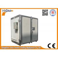 Quality electric trolley & tuunel /trolley convery tuunel Powder Coating curing oven for sale