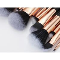 Quality 13PCS high end Cosmetic Professional Makeup Brush Set Rose Golden Copper Ferrule for sale