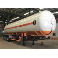 Wholesale 3 Axle 50000l 50m3 Heavy Duty Semi Trailers , Vietnam 56000l 25 Tons Lpg Tank Trailer from china suppliers