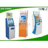 Wholesale Customized OEM Card Dispenser Kiosk , Bill Acceptor / Coin Dispenser Self Payment Kiosk from china suppliers