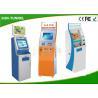 Buy cheap Customized OEM Card Dispenser Kiosk , Bill Acceptor / Coin Dispenser Self Payment Kiosk from wholesalers