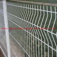 Wholesale curvy welded triangular bending wire mesh fence from china suppliers