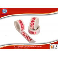 Wholesale Custom Printed Warning Bopp Packing Tape For Fragile Products Packaging from china suppliers