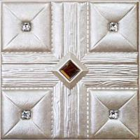 Wholesale PVC leather Wall Panel for interior wall decoration from china suppliers