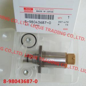 China DENSO  8-98043687-0 genuine Fuel Pressure Regulator / suction valve SCV 8980436870 / 294200-0650 /  2942000650 on sale