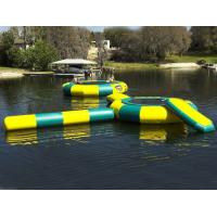 Wholesale Rave Bongo Water Trampoline Parks , Inflatable Water Games , Water Park Games from china suppliers