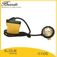 Buy cheap BRANDO New design intrinsically safe mining cap lamp with super bright lights from wholesalers
