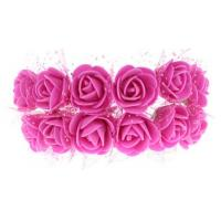 Wholesale cartoon bouquet packaging material pe flower plastic flower diy handmade eva with rose from china suppliers