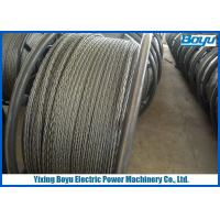 Wholesale Load 360kN Overhead Line Stringing Pilot Rope 24mm Anti - twisting Breaking from china suppliers