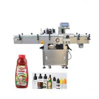 Wholesale Round Products Packaging And Labeling Machine , PLC Control Adhesive Labeling Machine from china suppliers