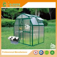 Wholesale 4'x6'x6.7'FT Green Color Easy DIY Barn Style Aluminum Greenhouse from china suppliers