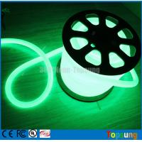 Wholesale 82 feet spool green led neon flex tube light round 12v for room from china suppliers